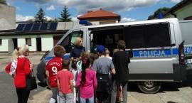 Dzieci z wizytą w pułtuskiej komendzie