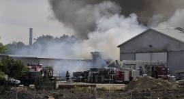 Pożar w Kleszewie