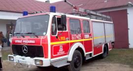 Mercedes dla strażaków z Szyszek