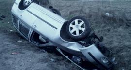 Wypadek w Kleszewie – dwie osoby ranne