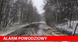 Droga na Ponikiew prawie nieprzejezdna – godz. 12.20 NOWE ZDJĘCIA