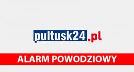 19 stycznia, godzina 12:00 – poziom Narwi w Pułtusku 450 cm