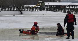 Pokazy ratownictwa lodowego
