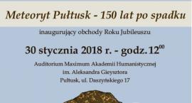 Meteoryt Pułtusk - 150 lat po upadku