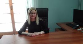 Dorota Subda pełniąca obowiązki burmistrza już w ratuszu
