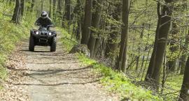Policja przypomina – jazda quadem po lesie jest zabroniona!