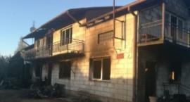 Zostały gołe ściany – rodzina ze Świercz straciła cały dobytek w pożarze domu