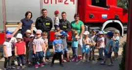 Wizyta Strażaków w Przedszkolu Miejskim nr 4