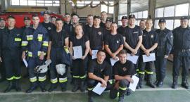 38 nowych ratowników – ochotników