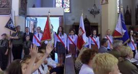 PSP Przemiarowo na uroczystości patriotycznej w Olsztynku