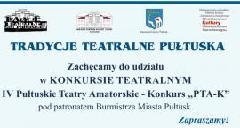 Zaproszenie do udziału w Konkursie Teatralnym
