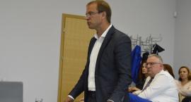 Robert Gajda podsumowuje działalność szpitala
