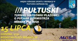 Zaproszenie do udziału w turnieju siatkówki plażowej