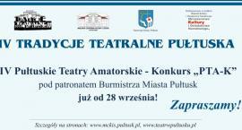 IV Pułtuskie Teatry Amatorskie - zaproszenie