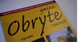 Mapa gminy Obryte już w sprzedaży!