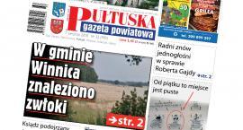 W 32 numerze Pułtuskiej Gazety Powiatowej