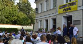 Narodowe Czytanie w Pułtusku - GALERIA ZDJĘĆ