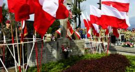 Uroczystości przy mogile AK w dniu Podziemnego Państwa Polskiego