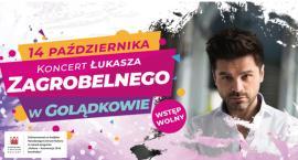 Koncert Łukasza Zagrobelnego w Golądkowie