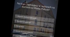 Na kogo zagłosujesz w wyborach na Burmistrza Miasta Pułtusk? - wyniki sondy internetowej