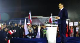 Podsumowanie kampanii wyborczej PiS z udziałem Mateusza Morawieckiego