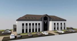 Wizualizacja nowej siedziby Urzędu Gminy w Świerczach