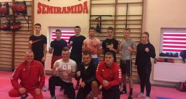 Trening kadry juniorów w boksie