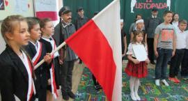 100-lecie odzyskania niepodległości przez Polskę w szkole w Gzach