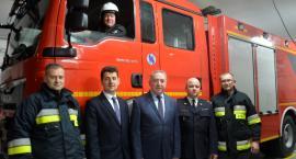 Nowy samochód pożarniczy dla OSP Winnica