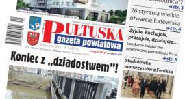 W jutrzejszym, 1 numerze Pułtuskiej Gazety Powiatowej