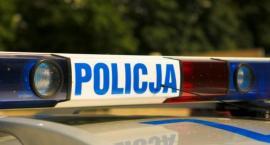 Wypadek na krajowej 61 w Kleszewie