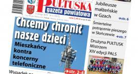 W jutrzejszym, 5 numerze Pułtuskiej Gazety Powiatowej