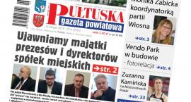W dzisiejszym, 6 numerze Pułtuskiej Gazety Powiatowej