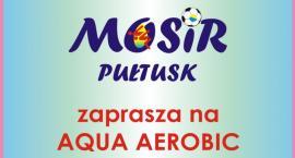 MOSiR zaprasza na zajęcia aqua aerobicu