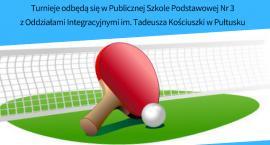 Mistrzostwa Pułtuska w tenisie stołowym