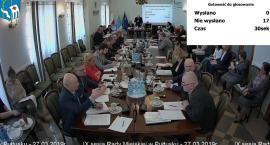 IX Sesja Rady Miejskiej w Pułtusku