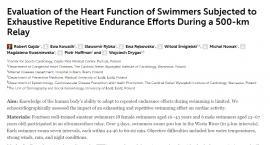 Prestiżowe Frontiers in Physiology publikuje artykuł z Centrum Kardiologii Sportowej w Pułtusku auto