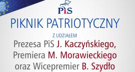 Piknik patriotyczny Prawa i Sprawiedliwości - ZAPROSZENIE