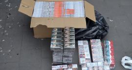 Policjanci przejęli kilkaset paczek z nielegalnym tytoniem