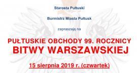 15 sierpnia w Pułtusku - ZAPROSZENIE
