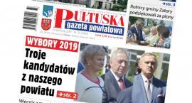 W jutrzejszym, 33 numerze Pułtuskiej Gazety Powiatowej