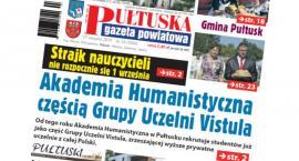 W jutrzejszym, 34 numerze Pułtuskiej Gazety Powiatowej