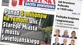 W jutrzejszym, 38 numerze Pułtuskiej Gazety Powiatowej