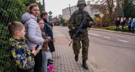 Terytorialsi patrolują ulice swoich miejscowości