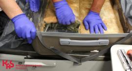 Heroina ukryta w walizkach