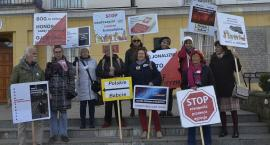 Babcie Polskie demonstrowały w Pułtusku