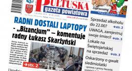 W jutrzejszym, 48 numerze Pułtuskiej Gazety Powiatowej