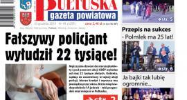 Jutro, w 49 numerze Pułtuskiej Gazety Powiatowej