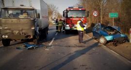 Wypadek na ul. Warszawskiej okazał się śmiertelny