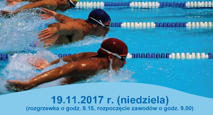 W Garwolinie, Otwarte Zawody Pływackie Puchar Burmistrza Miasta Garwolin - zdjęcie, fotografia